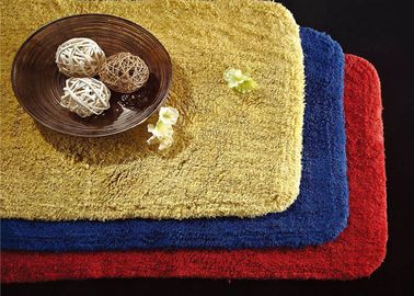 China 5 Star Custom Embossed Hotel Bath Mats , Hotel Style Collection Bath Mat supplier