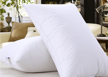 China Microfiber Filling Hotel Collection Pillows For Nursing / Sleeping Rectangle Shape supplier