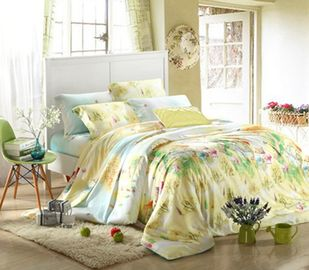 China Queen Size / Full Size Home Bedding Comforter Sets 100 Percent Cotton Fabric supplier