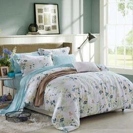 China Blue / Grey Home Bedding Comforter Sets Full / King / Queen / Twin Size supplier