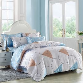 China Cuztomized Color Silk Luxury Home Bedding Sets , Queen Size / Full Size Bed Sets supplier