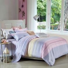 China Tencel Material Unique Home Bedding Sets For Bedroom 6 Piece / 7 Piece supplier