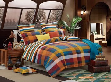 China 4 Piece Bedding Set For Toddler / Crip Bedroom Cotton Or Polyester Mateiral supplier