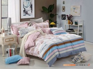 China Tencel Material King Size Home Bedding Sets Luxury Design Reactive Print supplier