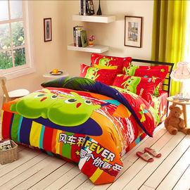 China Bamboo Reactive Printed 3d Duvet Cover Bedding Sets For Home Bedroom / Hotel supplier