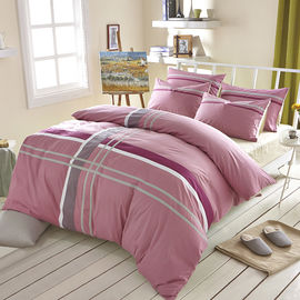China Queen Size Cotton Adults Bedding Sets For Womens / Mens Premium Reactive Printing supplier