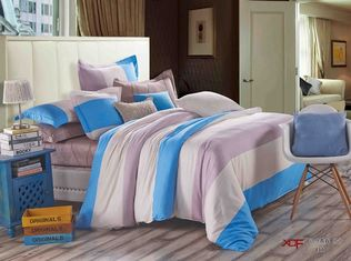 China 100 Percentage Cotton Fabric Cotton Bedding Sets Single Size Pigment Printing supplier