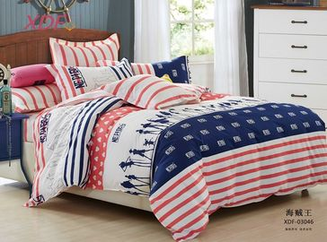 China Bedsheet / Pillowcase 4 Piece Teen Bedding Sets , Crib Clearance Bedding Sets supplier