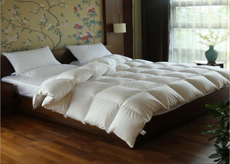 China White Goose Feather Duck Down Quilt Duvet Cotton Covers Exquisite Design Full Size supplier