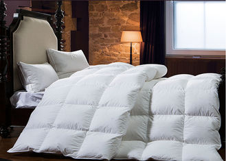 China King Size Goose Feather Duck Down Quilt Duvet , Goose Feather And Down Quilt supplier