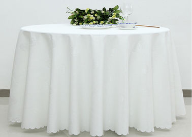 China Home Dining Room Linen Table Cloths Covers , Wedding Linen Like Tablecloths supplier