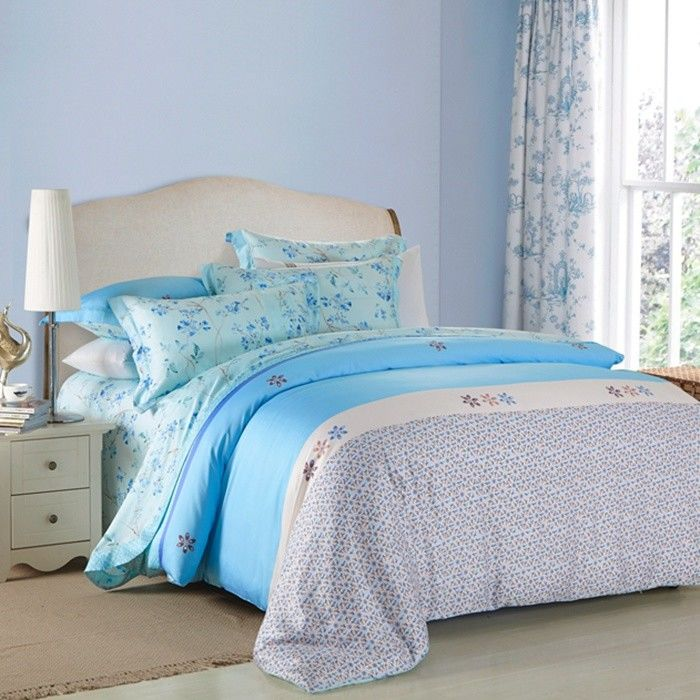 4 piece navy blue bedding sets 100 percentage cotton beautiful bedroom bedding sets for Beautiful bedroom comforter sets