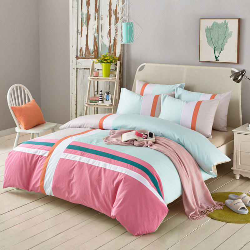 Superb China Custom Size Home Bedroom Bed Sheet Set 100% Cotton Fabric Reactive  Printed Supplier