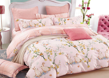China 40s X 40s Cotton Duvet Cover Bedding Sets Different Designs Full Size Bed Sets factory