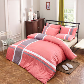 China 2017 spring stripe design 13372 40*40s reactive printed  design bedding sets/Full size factory