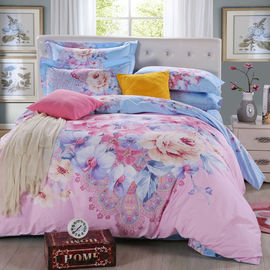 China colorful floral bedding set, printed bedding set,3d beddings factory