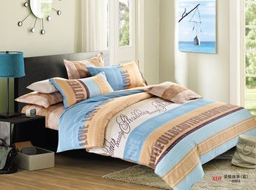 China King Size Cotton Bedding Sets , Daybed Bedding Double Bed Sheets Sets factory