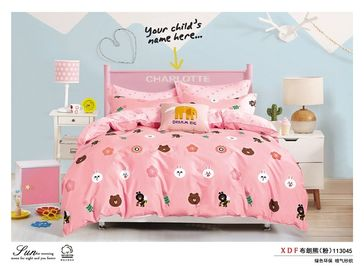 China 100 Percentage Cotton Bedding Sets King Size 3 Piece / 4 Piece / 5 Piece factory