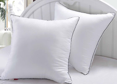 Newly Designed Exquisite Hotel Collection Pillows Decorativing Stuffing White Color