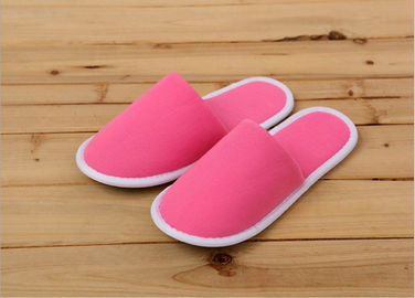 Luxury Indoor Terry Towel Disposable Hotel Slippers For Hotels / Guests Customized