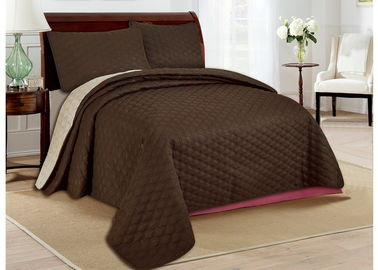 Skin Friendly Bed Spread Sets 100 Polyester Bedspread For Home